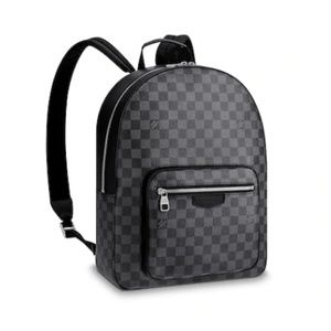 Authentic Louis Vuitton Josh Backpack in Graphite